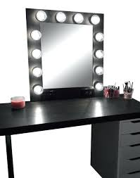 black makeup vanity black bedroom