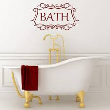 Bath Quotes Gorgeous Online Shop Artist Bath Wall Sticker Quotes Removable Vinyl Wall