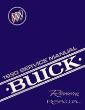 reatta manual 1990 buick reatta riviera shop service repair book manual engine electrical oem