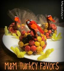 ... found yourself on the hunt for a crafty Fall dcor piece that both you  and the kids can work on, you're going to love what these M&M turkey party  favors ...