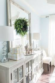 elegant dining room buffet with decor and leaning mirror buffet diningroomdecor