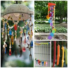 20+ wind chime crafts kids can make- these are BEAUTIFUL! I want to