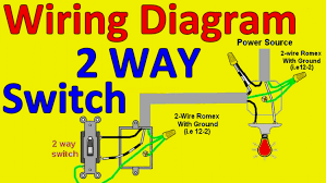 wiring diagram for a light switch or dimmer in typical wire diagrams wiring diagram for a light switch 2 way diagrams