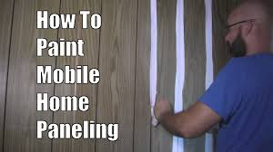 wood colored paintHow to Paint Mobile Home Paneling  YouTube