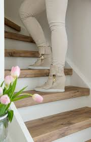 Best Stair Treads Ideas On Pinterest - Painted basement stairs