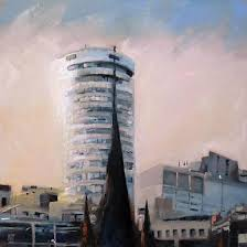 mark hickman is a contemporary artist and painter of city and coastal landscape oil paintings