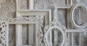white frame set shabby chic large heirloom gardenofchic