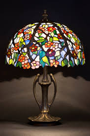 stained glass art stained glass table lamp desk lamp bedside lamp standing