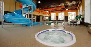 indoor pool with waterslide. Our Heated Indoor Saltwater Pool With Waterslide