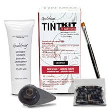 amazon efroy tint kit for spot coloring dark brown hair hennas beauty