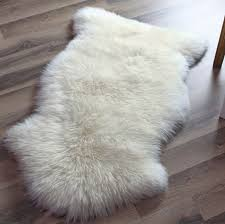 sheepskin rugs fake sheepskin rug fake bear rug