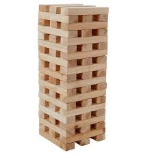 Wooden Brick Game Kingfisher GA10000 Giant up to 100100m Tumbling 100 Wooden Brick Block 14
