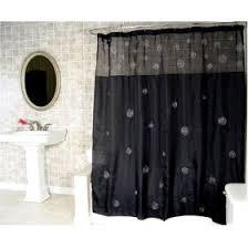 black shower curtains. Black Shower Curtains