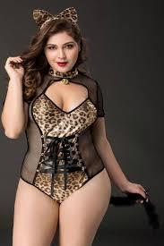 <b>Черно</b>-<b>леопардовый костюм кошки tawny</b> Candy Girl 841050 ...