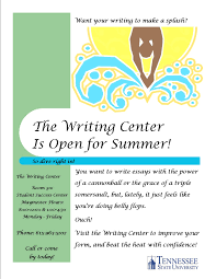 current flyers the writing center summer flyer make a splash