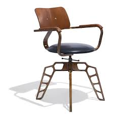 modern industrial design furniture. odyssey chair u2014 chaira striking design of steel and wood with an optional leather seat the adds a modern industrial element to any furniture d