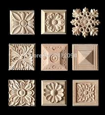 2018 cabinet door wood carving appliques natural wood crafts furniture accessories flower alphabet decorative mouldings decals from lienal 42 7 dhgate