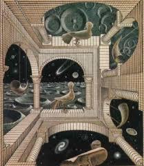 Risultati immagini per Maurits Cornelis Escher  - La prospettiva impossibile