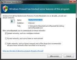Windows Security Button Beware Pressing Cancel On Windows Firewall Security Alert