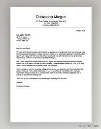Alike all other letter, job application letter or cover letter, the body of employment application sample transcribe job application letter sent for authentication. Cover Letter Maker Creator Template Samples To Pdf