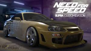 Need for Speed 2015 - TOYOTA SUPRA CUSTOMISATION and GAMEPLAY ...