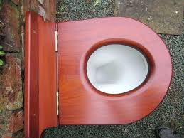 toilets solid walnut toilet seat antique mahogany round wooden high level throne roper john seats in