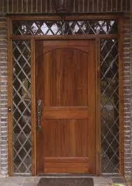 solid wood doors single entry doors