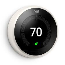 nest learning thermostat, 3rd generation t3007es the home depot 2 Wire Thermostat Home Depot does the nest require a separate wire for power or will work just with the existing wiring Home Depot Line Voltage Thermostat