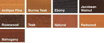 Red wood stain Oak Wood Swatches Shabby Treats Sadolin Quick Dry Woodstain Sadolin
