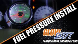 how to install a fuel pressure gauge