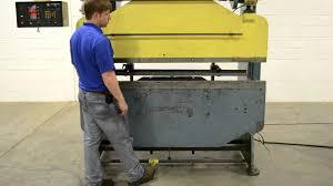 homemade hydraulic press brake. di-acro 6\u0027 x 35 ton hydra-mechanical hydraulic press brake homemade j