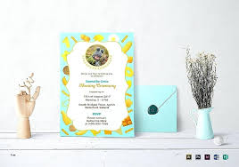 naming ceremony invitation card lovely design for picture ideas references templates free