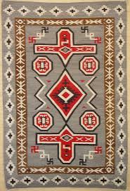 old crystal navajo rug