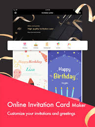 Invitations Card Maker Party Invitation Cards Maker App Price Drops