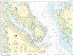 Noaa Nautical Chart 12264 Chesapeake Bay Patuxent River And Vicinity
