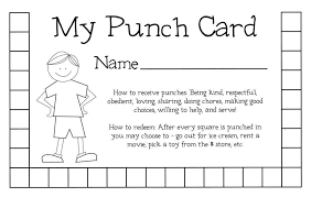 Free Punch Cards Template Free Printable Punch Card Template Xmas2017 For Free