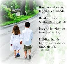 Sibling Love Quotes Magnificent Brother And Sister Quotes Siblings Brotherandsistertogetheras