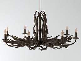 deer horn chandelier 1