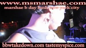 Ms. Marshae XXX b day bash new york city YouTube