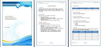 Microsoft Word Presentation Template Microsoft Word Template Report Word Template Report Exolgbabogadosco