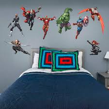 marvel s avengers assemble collection x large officially licensed removable wall decals fathead wall