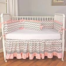 photo 4 of 7 chevron pink crib bedding set monogrammed idea personalized custom boy sets personalized crib bedding