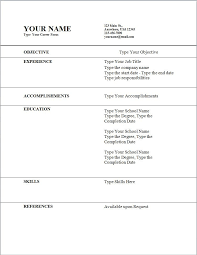 Simple Job Resume Template Best 28 How To Make A Simple Job Resume Richard Wood Sop