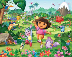 dora the explorer rs wallpaper