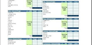 Event Planning Budget Template Wedding Form Planner Free