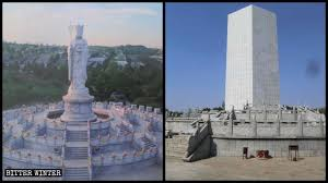 ccp destroys more buddhist statues to