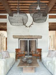 Eclectic Rustic Decor Rustic Chic Revival In Classic Cabin With Eclectic Details