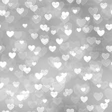 Silver Pattern Beauteous Gold And Silver Theme Heart Bokeh Pattern 48 Fabric Raccoongirl