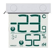 Оконный цифровой <b>термометр</b> с прозрачным дисплеем <b>RST 01278</b>