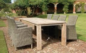 image of teak outdoor furniture table